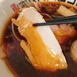 鶏 ソバ カモシ - 鶏チャーシュー(2017.10)