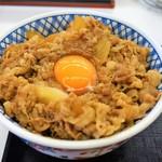 吉野家 - 料理写真:特盛(生卵)