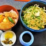 さぬき庵 - 天丼セット