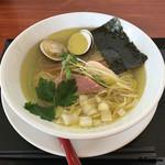 麺SAMURAI 桃太郎 - はまぐりそば塩
