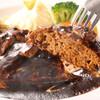 厳選洋食さくらい - 料理写真:肉汁溢れだす♪ボリューム満点 デミグラスソースハンバーグ