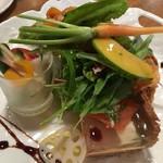 75224064 - 地元の野菜がたっぷり!