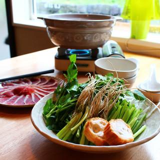 岩手の食材と調味料を使った心のこもったお料理