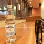 カフェ・ド・クリエ - ドリンク写真:ペッドボトルの炭酸水:190円