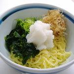 食いしんぼアイワ - おろしぶっかけラーメン 550円