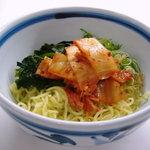 食いしんぼアイワ - キムチぶっかけラーメン 600円