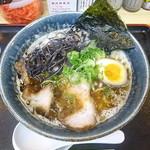 とんこつ麺屋 火の国 - 料理写真:こってり塩 2017.10月