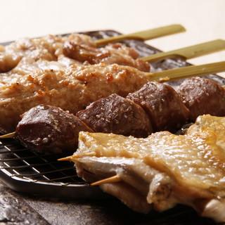 銘柄鶏「香鶏」を使用した鶏料理