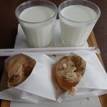 ミサキドーナツ - (2017/10月)ミルク、りんご、コーヒーカスター
