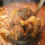 麻布租界 - 麻布租界名物!特性スープ※激辛スープかスープカレーになります