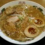 五誓 極 - 料理写真:【特製ラーメン + 煮玉子】¥700 + ¥100