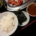 焼肉レストラン 鶴松 - 焼肉ランチ【2017.10】