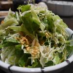 仁亭 - サラダ、たっぷり召し上がれ(お代わり自由)