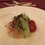 75239253 - オードブル ホタテ・野菜