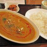インド亭 - チキンムガライカレー
