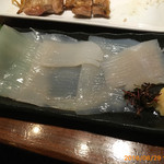 きくよ食堂 - イカ刺身