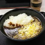 吉野家 - チーズ黒カレー450円