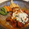 ドルチェヴィータ - 料理写真:トマトソースハンバーグセット