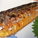 ます道庵 - 鯖の燻製