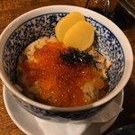 サレカマネ - 秋鮭といくらのはらこ飯