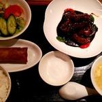 75249934 - 黒酢酢豚セット