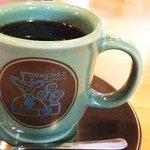 コメダ珈琲店  - アメリカンはグリーンのカップ