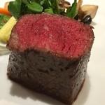 75250499 - 〈メイン〉五島牛の備長炭炭火焼きステーキ イチボ100g