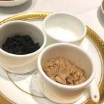 レストラン・フォレスト - ステーキ用の3種の塩