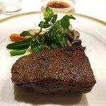 レストラン・フォレスト - 〈メイン〉五島牛の備長炭炭火焼きステーキ イチボ200g