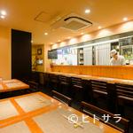 竹膳 - 落ち着きのある和モダンの空間で、贅沢な時間を満喫