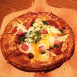 75253456 - とろっとろのピザ!