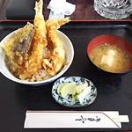 さぶちゃん - 料理写真:天丼1100円