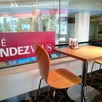 カフェ ランデヴー - 2名掛のテーブル席