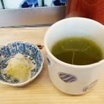 まぐろどんぶり瀬川 - お茶