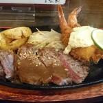 洋食 みやび - ステーキの肉質も最高!