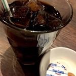 琉球・梅酒ダイニング てぃーだ - アイスコーヒーでクールダウン