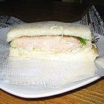 オランダ屋 - チキンのサンドイッチ