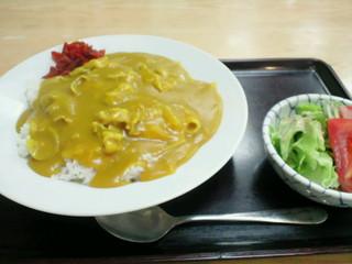 まるか そば店 - 黄色いカレー(800円)