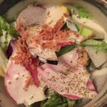 75260864 - 【'17.10】鎌倉野菜が鮮やかなサラダ