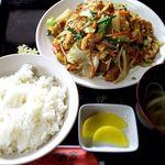 お食事処かよう - 料理写真:フーチャンプルー