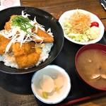 あか松 - 料理写真:本気丼・せがれのカツ丼(900円)