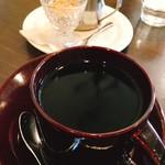 ボンガ珈琲 - ドリンク写真:日替りの珈琲は‼︎カロシ・トラジャ