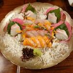 料理旅館  海若の宿 - 造里 四種盛(4人前)