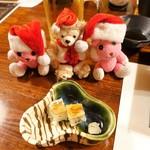 料理旅館  海若の宿 - 先附 あなご寿司