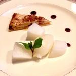 ふらんす厨房 Kei - りんごのタルトと洋梨のシャーベット