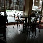 玄妙 - 出入口近くテーブル