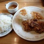 クラーク亭 - 照り焼きチキンランチ(630円)