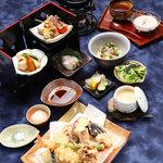"""心。 - 料理写真:<夜> 天ぷらコース""""天-TEN-"""""""