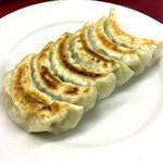 大鳳閣 - おすすめセットの餃子
