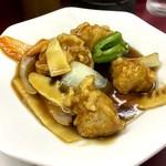 大鳳閣 - おすすめセットチョイスの酢豚